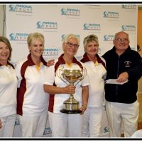 Winners WP Ladies 4s